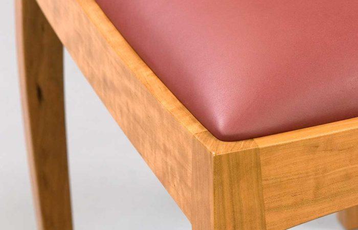 Marimba bench closeup