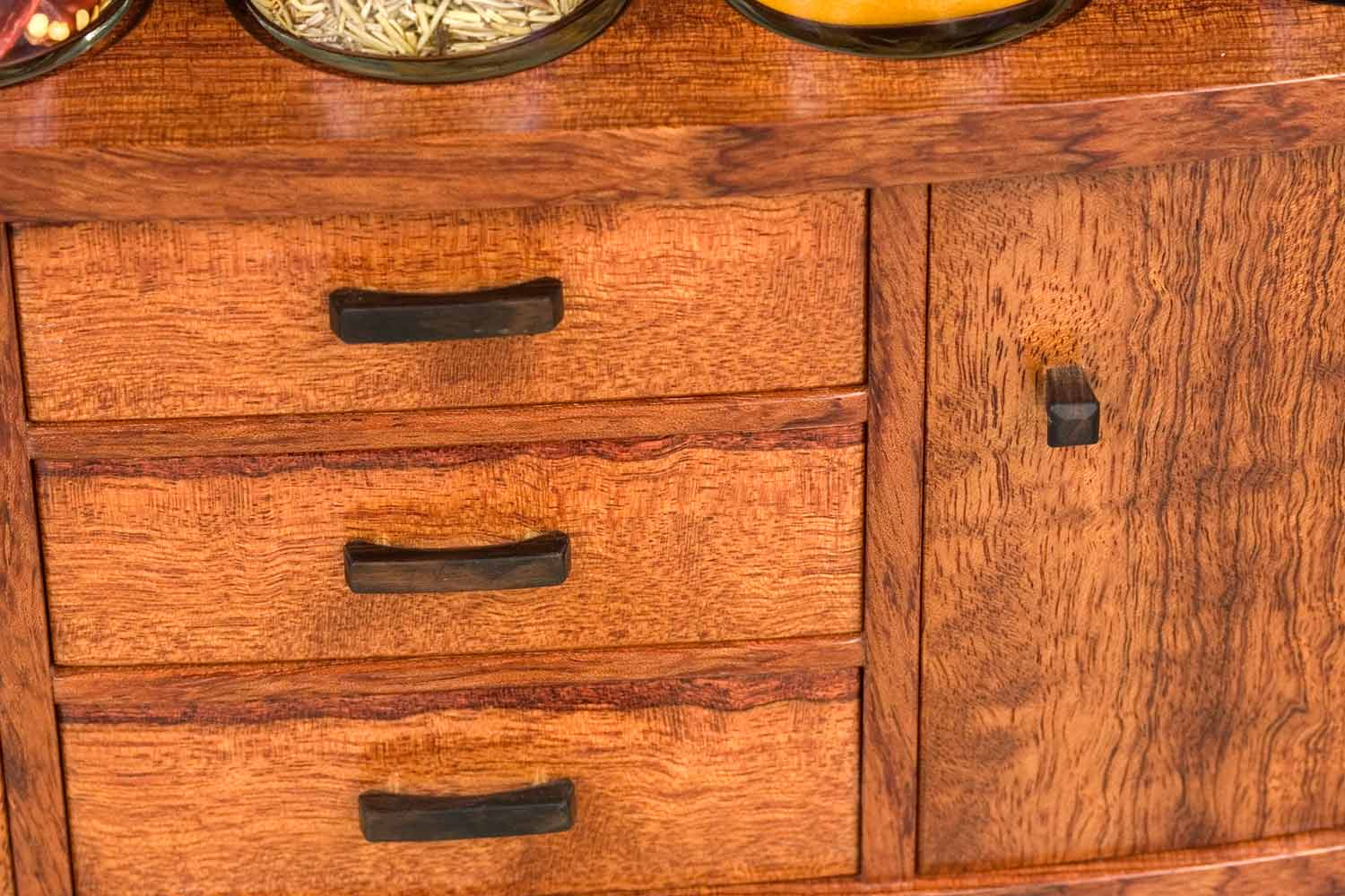 spice cabinet drawer knobs front
