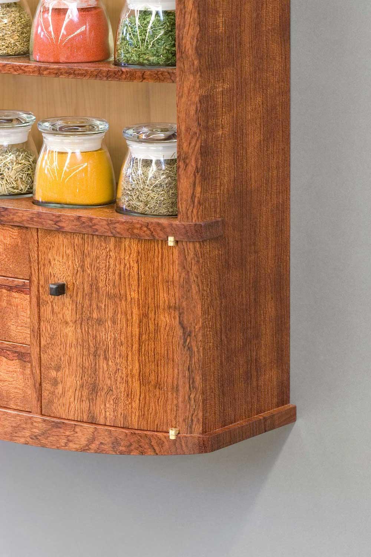 spice cabinet left trim