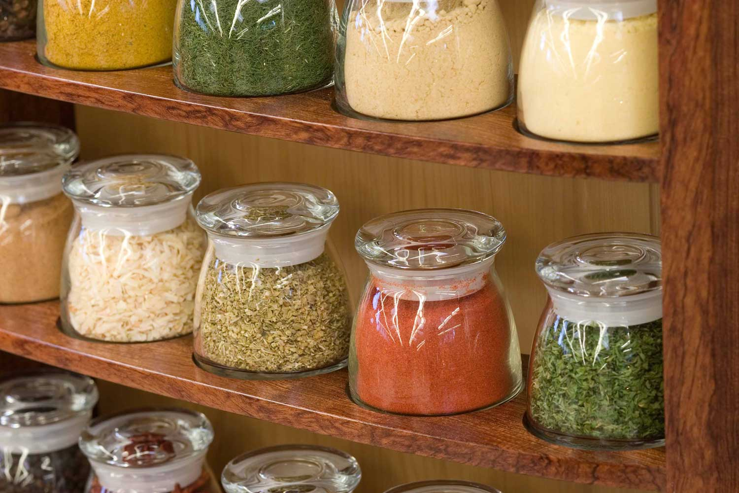 spice cabinet spices